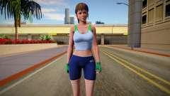 DOA6 Hitomi Energy Up Training Wear for GTA San Andreas