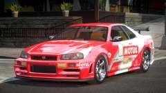 Nissan Skyline R34 Qz7 L6 for GTA 4