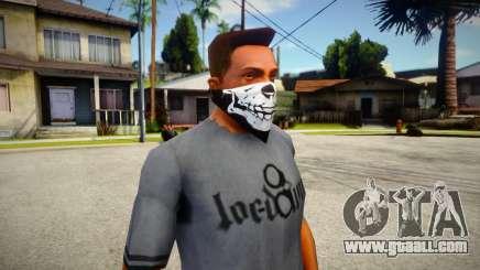 New Half Skull Mask for GTA San Andreas