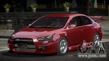 Mitsubishi Lancer X GST-R for GTA 4