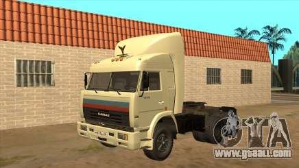 Kamaz 54115 (Truckers) v2 for GTA San Andreas