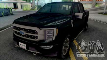 Ford F150 2021 Platinum Edition for GTA San Andreas