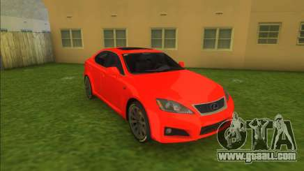 Lexus IS-F V2 for GTA Vice City