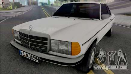 Mercedes-Benz W123 CE Coupe 1986 for GTA San Andreas