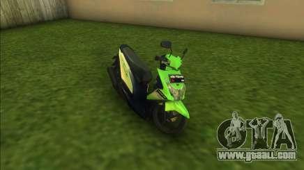 Honda BeAT FI for GTA Vice City