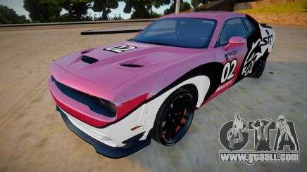 Dodge Challenger Hellcat Prior Design for GTA San Andreas