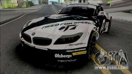 BMW Z4 GT3 Team NFS for GTA San Andreas