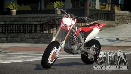 Honda CRF 250 L4 for GTA 4