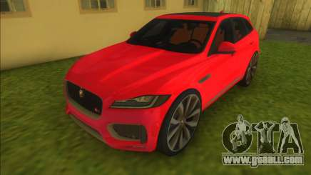 Jaguar F Pace for GTA Vice City