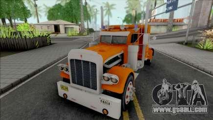 Kenworth W900 Orange for GTA San Andreas
