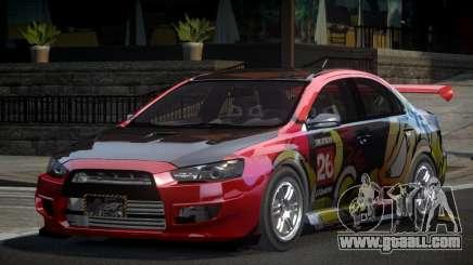 Mitsubishi Lancer X GST-R PJ5 for GTA 4