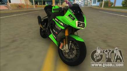 Kawasaki Ninja ZX6-R for GTA Vice City