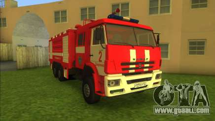 KamAZ-6520 Fire AC-40 for GTA Vice City