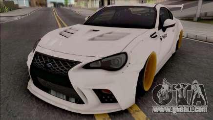 Subaru BRZ Drift for GTA San Andreas