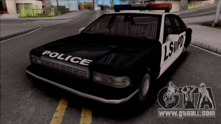 Beta Premier Police LS (Final) for GTA San Andreas