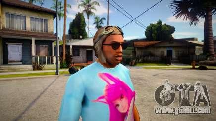 GTA V Pilot Hat For CJ for GTA San Andreas