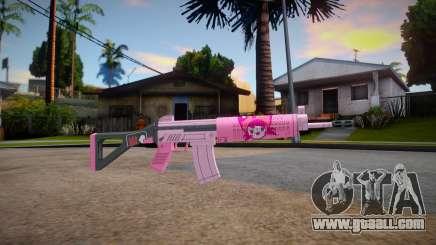 APB SR15 Carbine (Otome Neko) for GTA San Andreas
