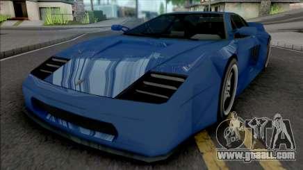 Turismo F120 [VehFuncs] for GTA San Andreas