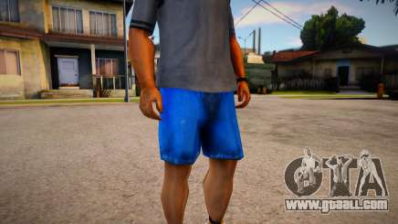 Darker Colored Cut Off Denims Shorts For Cj for GTA San Andreas
