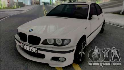 BMW 3-er E46 330D for GTA San Andreas