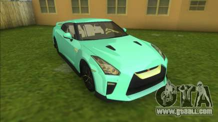 Nissan GT-R 2017 for GTA Vice City