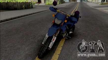 Kawasaki KLX 150 BF SE for GTA San Andreas