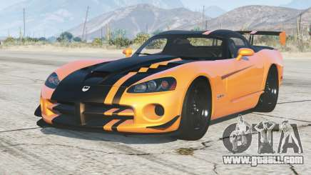 Dodge Viper SRT10 ACR 2008〡add-on for GTA 5