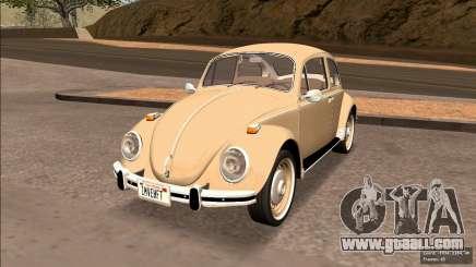 Volkswagen Beetle (Fuscao) 1500 1971 - Brazil for GTA San Andreas
