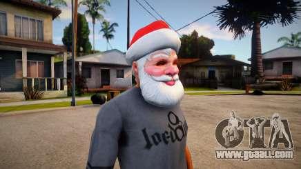 Santa Mask (GTA V Old Gen Xmas) for GTA San Andreas