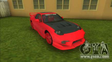 Mazda RX-7 Veilside C1 for GTA Vice City