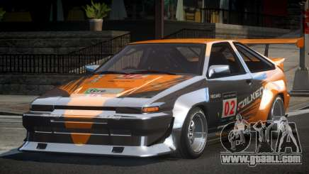 1983 Toyota AE86 GS Racing L5 for GTA 4
