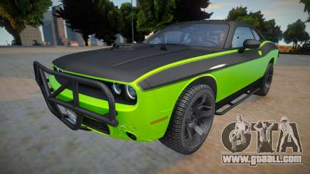 Dodge Challenger RTShaker F7 (High quality car) for GTA San Andreas