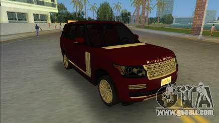 2014 Range Rover Vogue for GTA Vice City