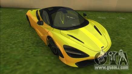 McLaren 720S for GTA Vice City