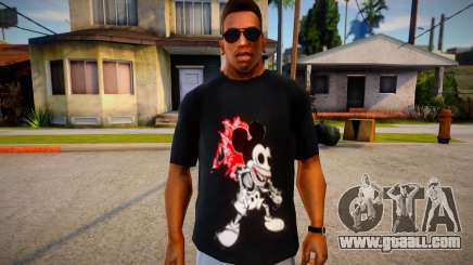 Mickey Mouse T-Shirt (good textures) for GTA San Andreas