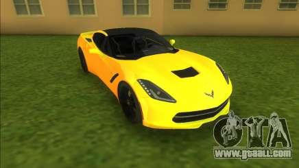 Chevrolet Corvette C7 Z51 for GTA Vice City