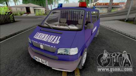 Volkswagen Caravelle Jandarmeria for GTA San Andreas