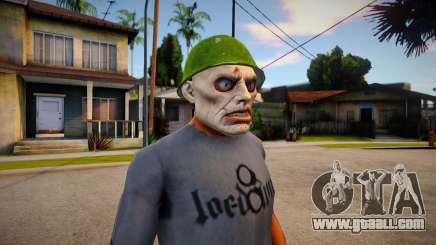 PUTREFIED_ZOMBIE (DLC Gunrunning) for GTA San Andreas
