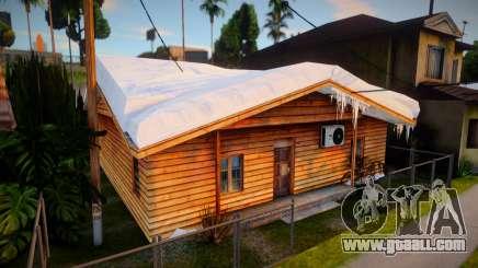 Winter Gang House 2 for GTA San Andreas