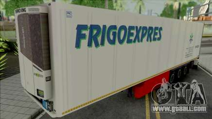 Refrigerated Trailer Frigo Express for GTA San Andreas