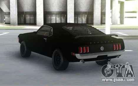 Ford Mustang 302 LP 1970 for GTA San Andreas