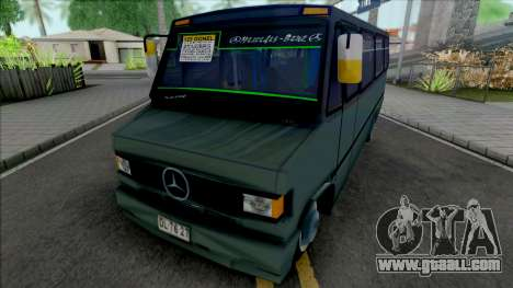 Mercedes-Benz LO 809 Inrecar v2 for GTA San Andreas