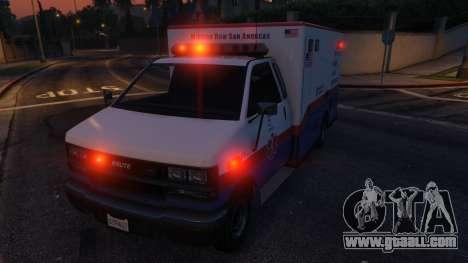 GTA 5 Brighter Emergency Lights