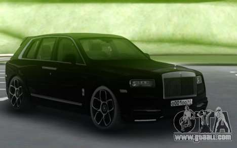 Rolls-Royce Cullinan Black for GTA San Andreas
