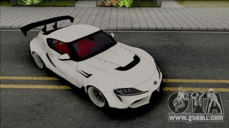 Toyota Supra GR 2020 Varis for GTA San Andreas