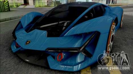 Lamborghini Terzo Millennio [Fixed] for GTA San Andreas