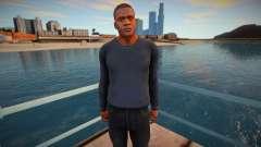 Franklin dark clothes for GTA San Andreas