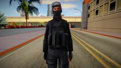 New SWAT (good textures) for GTA San Andreas