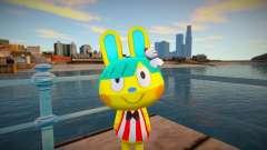 Animal Crossing Pocket Camp Toby Skin Mod for GTA San Andreas