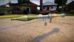 New textures for the rocket launcher for GTA San Andreas